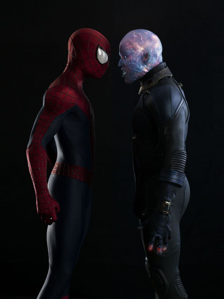 Spiderman & Electro full body shots fro SDCC #13