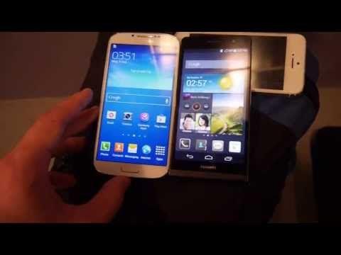 Huawei Ascend P6 vs. Samsung Galaxy S4 Comparison