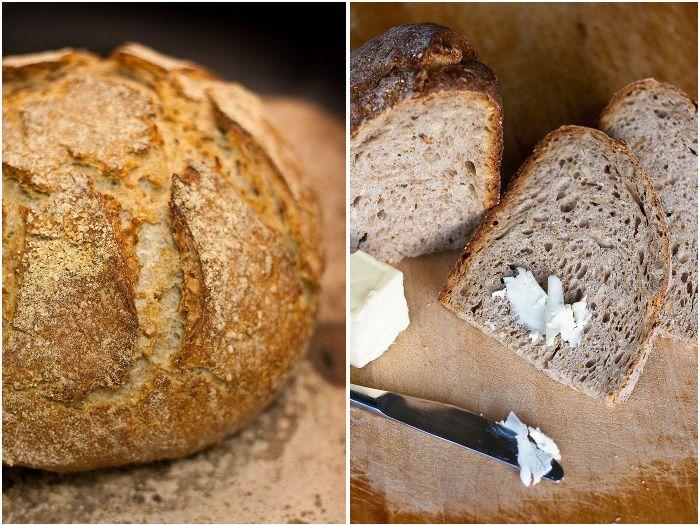 Зерновой хлеб на закваске