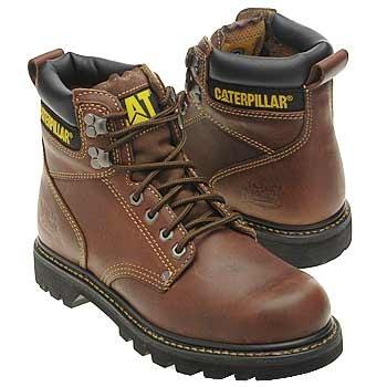 Caterpillar Second Shift Boots (Mens Tan) - Men\u0027s Boots - W