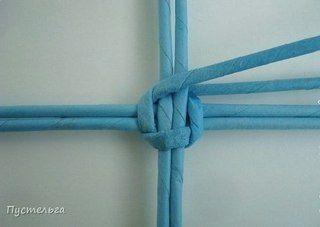 Плетение из бумажных трубочек и МК много