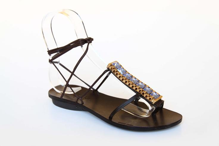 ART.525 BRIDGE    Shelight #shoes. Made with #Swarovski elements.