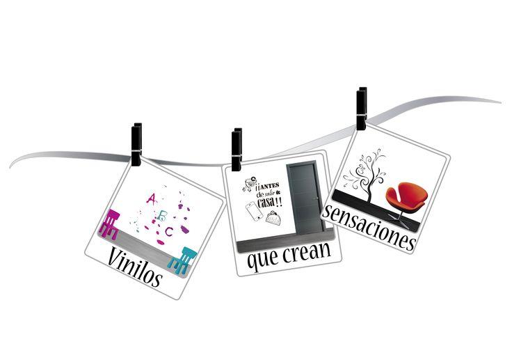 Os presentamos una pequeña selección de los diseños de vinilos decorativos, de la tienda SensesVinilo