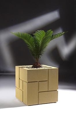 This Cast Stone Block Planter Would Make A Modern Addition To A Southwest  Garden. From Haddenstone In NJ.