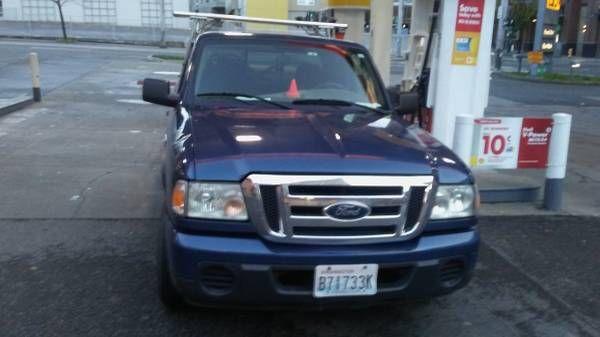 2009 Ford Ranger — Traffic Control truck with flashing WIGWAMS