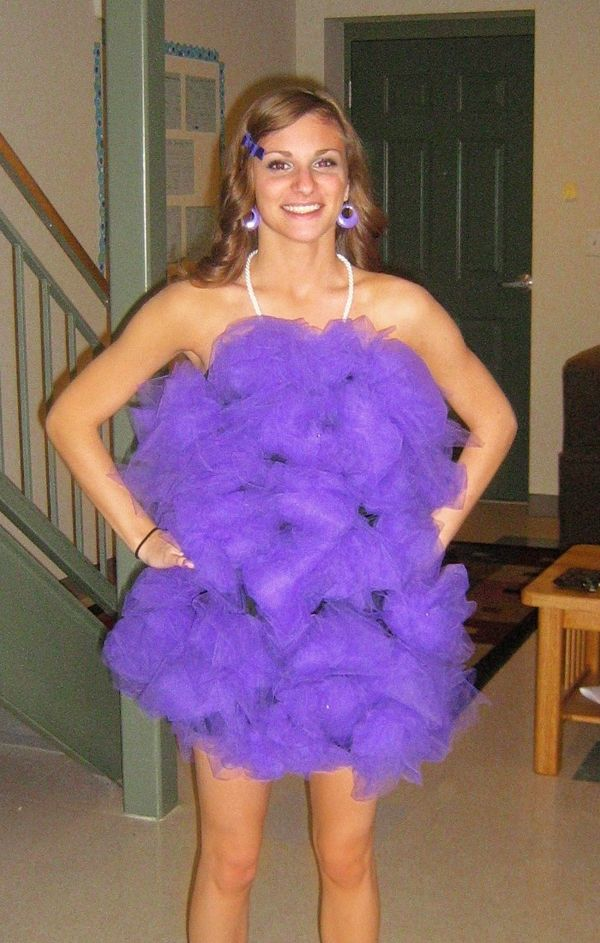 """loofah costume.  This one has the """"how to"""""""