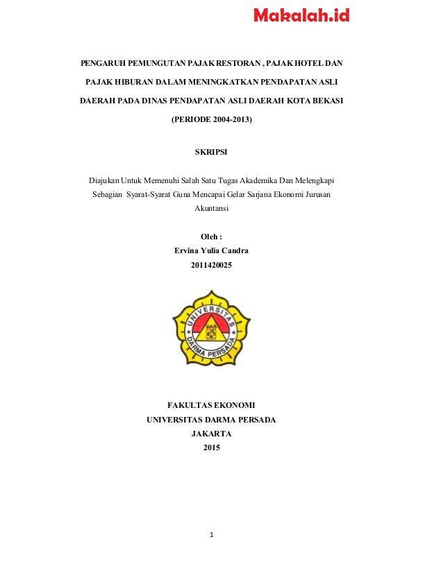 Skripsi Akuntansi Manajemen 2018 Ide Judul Skripsi Universitas Cute766