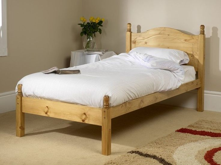 orlando low foot end pine bed frame hand crafted various sizes u0026 finishes