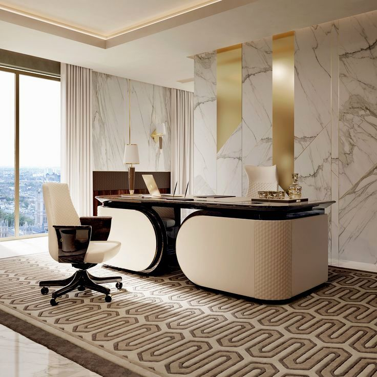 Best Home Office Decor Ideas For Gentlemen Office Table Design Home Office Design Modern Office Design