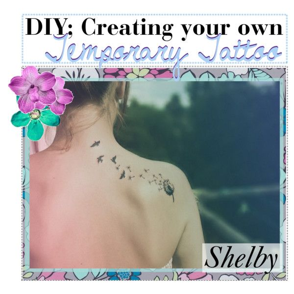 Diy create your own temporary tattoos sharpie baby for Fake tattoo creator
