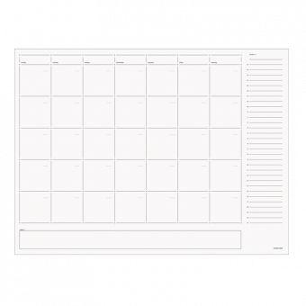nice big clean modern calendar to schedule posts on. Calendar Pad | www.russellandhazel.com