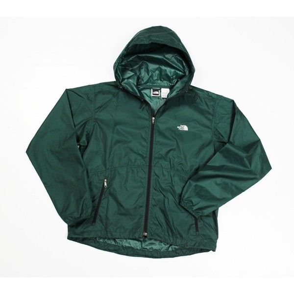 The North Face Lightweight Stowable Windbreaker (€52) found on Polyvore featuring women's fashion, activewear, activewear jackets, vintage sportswear and the north face
