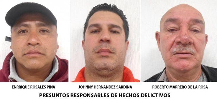 PGJDF RECLUYE A DETENIDOS EN POSESIÓN DE TARJETAS BANCARIAS Y CHEQUES ROBADOS