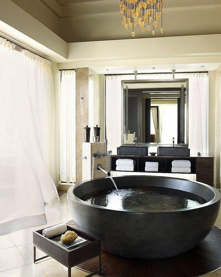 badkuip modern zwart