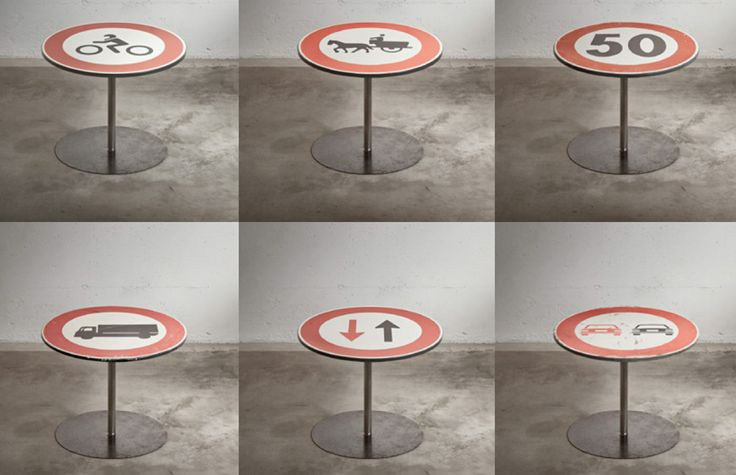 SignTable design by Alessandro Ugo for Ad Hoc | Abur Cubur ...