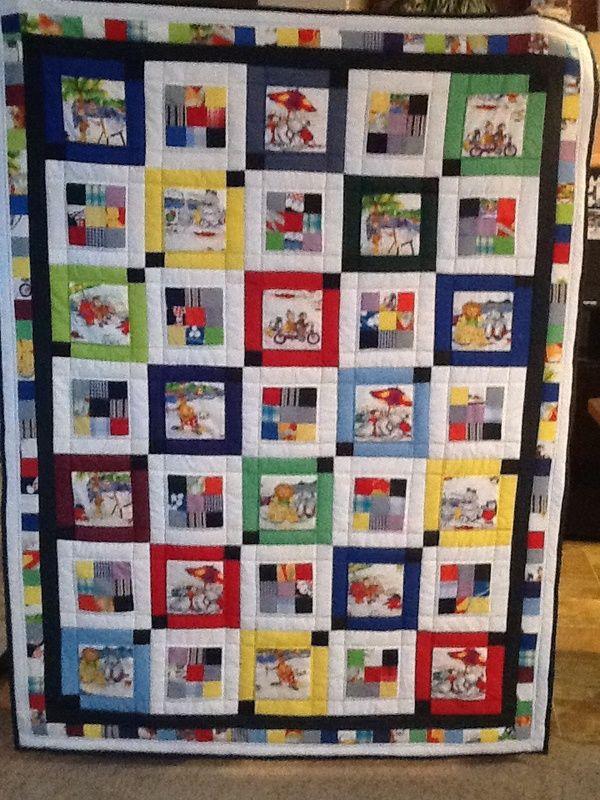 Featured Member Quilts: June 4 - 24 Blocks