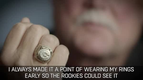 """""""I always made it a point of wearing my rings early so the rookies could see it..."""" - Mike Holmgren  35 days... #SB51. #50Rings50Days #TheRingIsTheThing"""