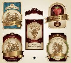 Resultado de imagem para etiquetas para perfumes vintage