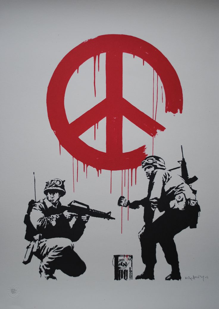 CND Soldiers2005Screenprint27.6 x 19.7 inches (70 x 50 cm)Edition of 350Signed and numbered
