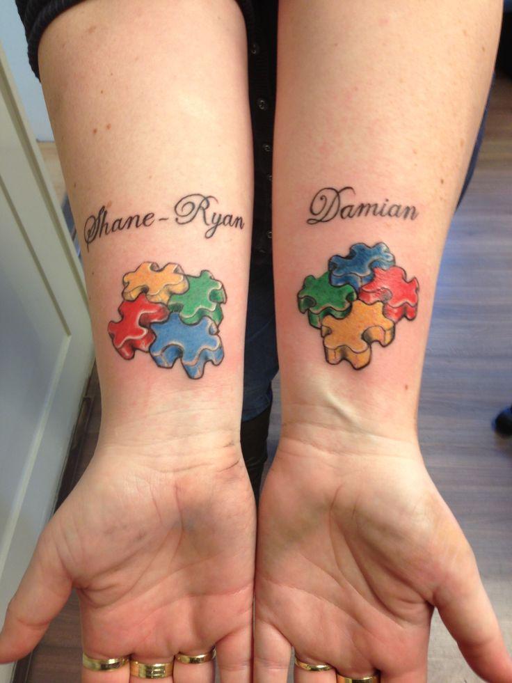 69 Best Autism Tattoos Images On Pinterest Autism Tattoos Tattoo