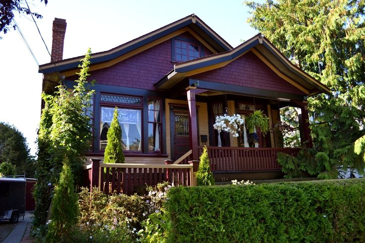 James Bay House - heritage homes lend  a community character.