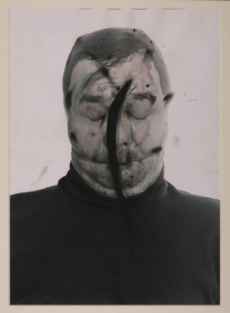 Arnulf Rainer #artist #portrait