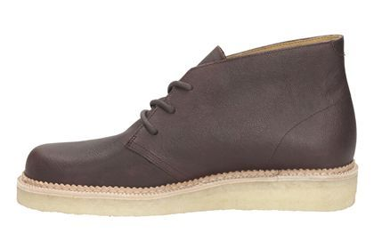 Mens Originals Boots - Beckery Hill in Wine Leather from Clarks shoes