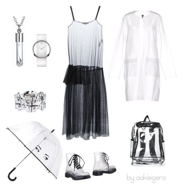 """""""Rainy day"""" by aakiegera on Polyvore featuring мода, Colors Of California, STELLA McCARTNEY, Calvin Klein, Christopher Kane, Jijil и Kate Spade"""