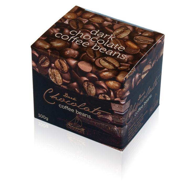 Dark Chocolate Coated Coffee Beans 100g