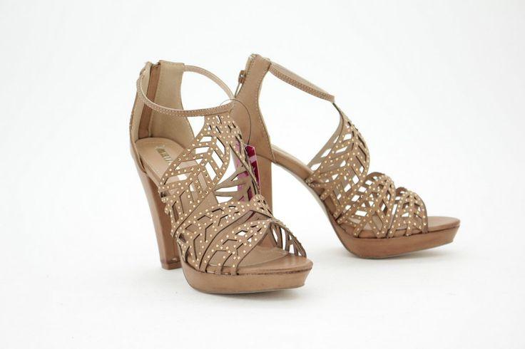 CAMEL T.7 PLTF SAND HOJAS STRAS | Calzados NIZA - Zapatos, moda y complementos online #NIZAyZAS