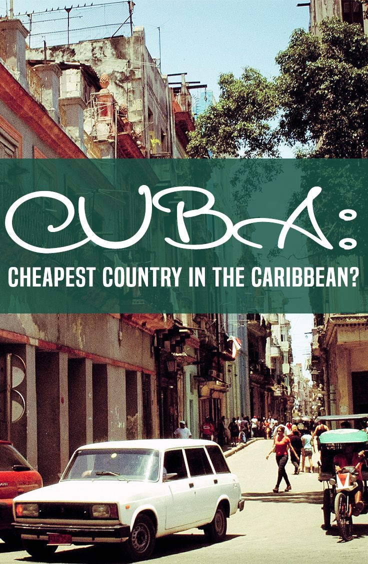 if you're going to soak up the local culture, see the sights, and meet the people (which you should be), it's ridiculously easy to travel to Cuba cheap.