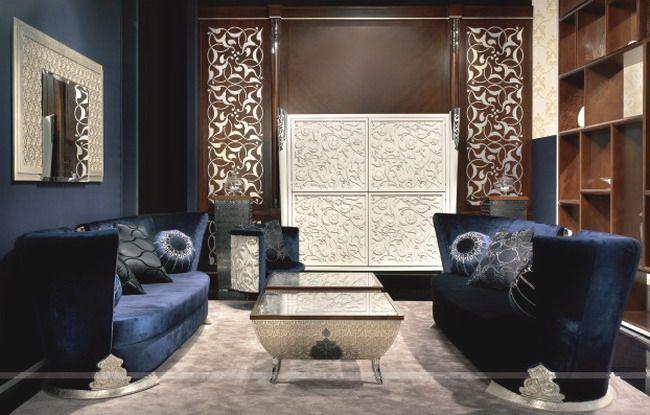 SARAYA ELD 47 от Elledue - Итальянская мягкая мебель Арт-деко