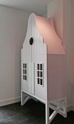 Beautiful Sch ne Baby und Kinderzimmerschrank In Farben Wei Pastel Pink Pastel