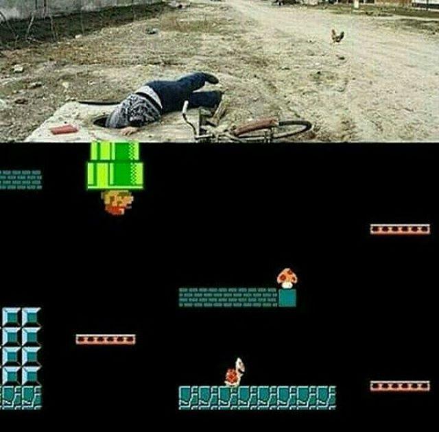 Eu tentando fugir dos meus problemas.  #mario #supermario #nitendo #supernitendo #nostalgia #anos90 #game #gamer #videogame #infancia #nerd #geek #startnerd