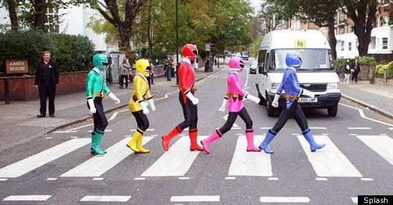 Mighty Morphin Abbey Road.