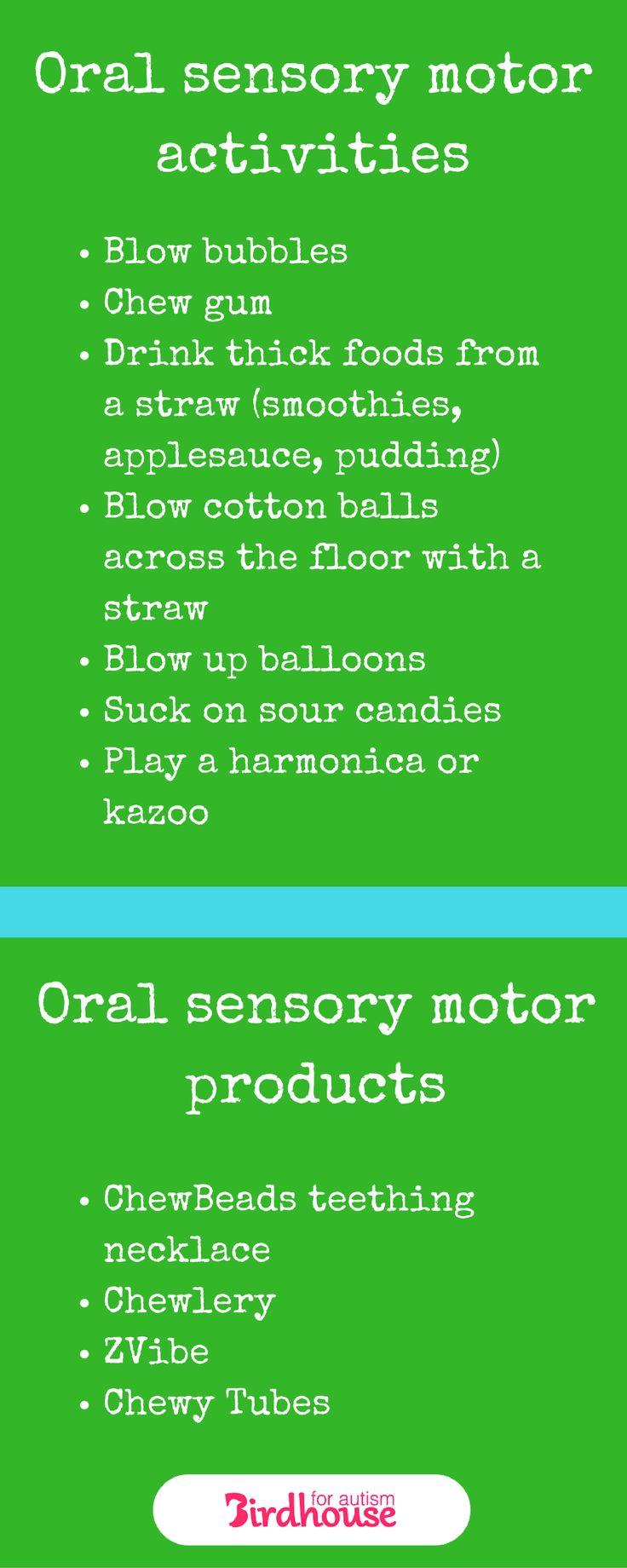 Best 25 Oral Motor Activities Ideas On Pinterest Oral