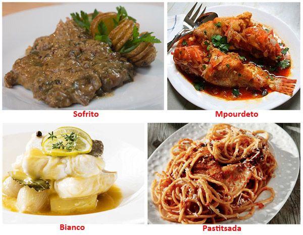Corfu Delicacies