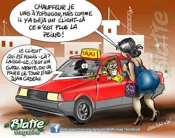 """#Postpic - Il est arrivé au pays de voir un #Taximan vous débarquer pour un client """"plus important"""" Vous faites quoi dans ce cas ?"""