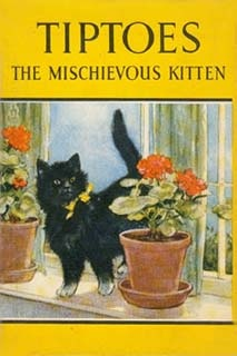 Tiptoes the Mischievous Kitten,   Noel Barr (illustrated by P. B. Hickling)