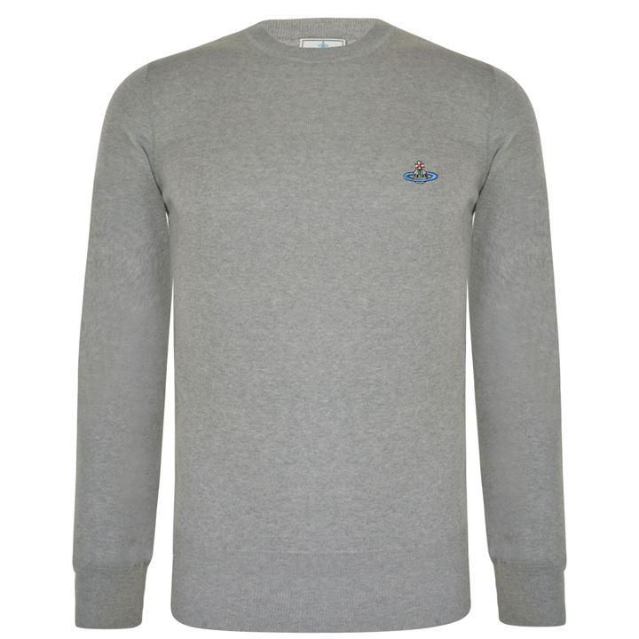 Vivienne Westwood Man Crew Neck Sweatshirt: Grey
