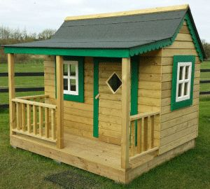 Wendy house made by David from Ireland