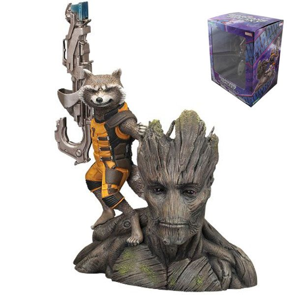 Guardians of the Galaxy Groot & Rocket Collectible Figure //Price: $20.00 & FREE Shipping //     #avengers #justiceleague #superman #spiderman