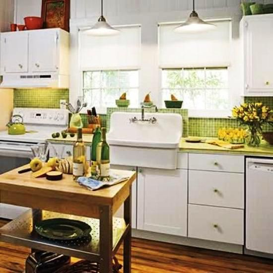 Green And Yellow Kitchen Ideas: 23 Best Fresh Green Kitchen Cabinets Ideas Images On