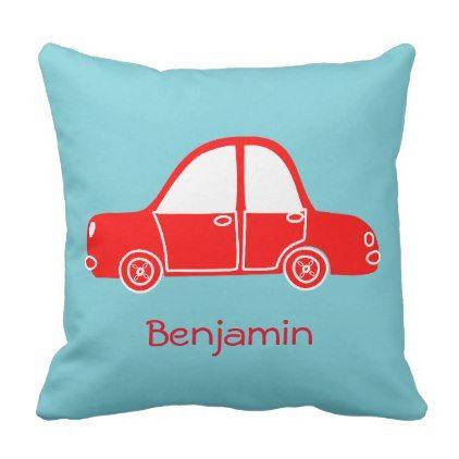 Car Cushion - baby gifts child new born gift idea diy cyo special unique design