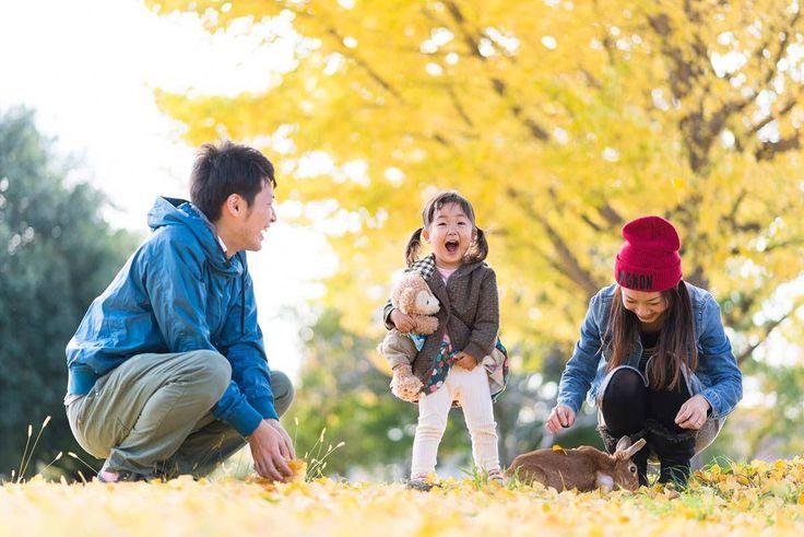 家族写真ならこんなロケーションで | 埼玉 川越 | 渡辺博幸出張写真