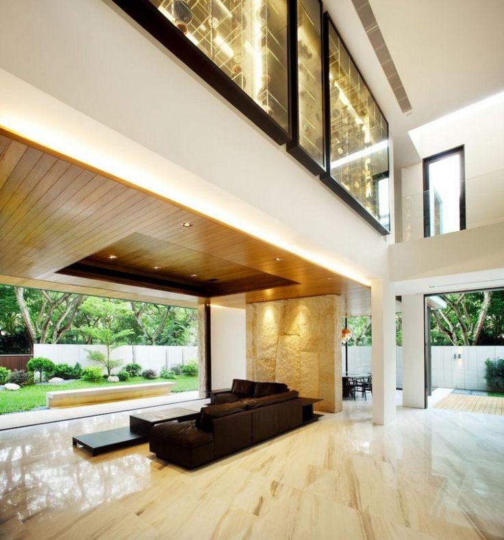 New green interior design for Interior house design green
