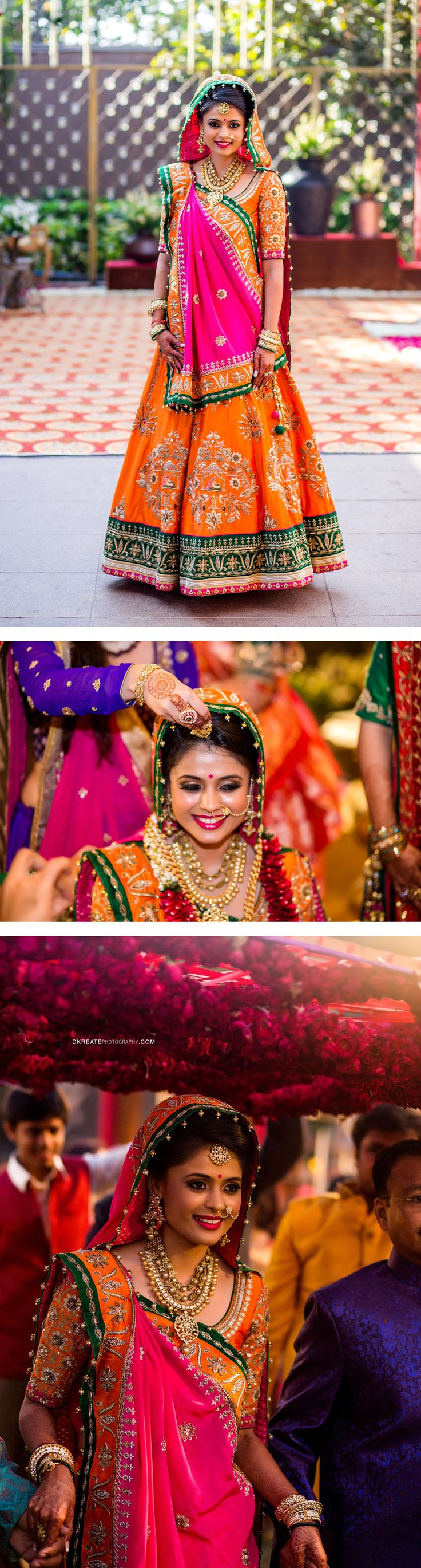 Indian Wedding Outfit Inspirations | DKreate Photography | Fresh bridal look…