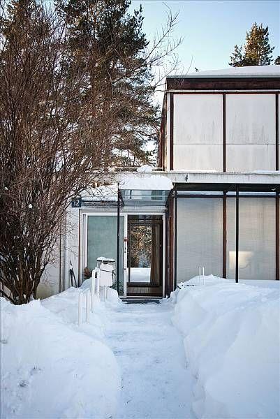 FINN Eiendom - Bolig til salgs / Planetveien 12, architect Arne Korsmo / entrance