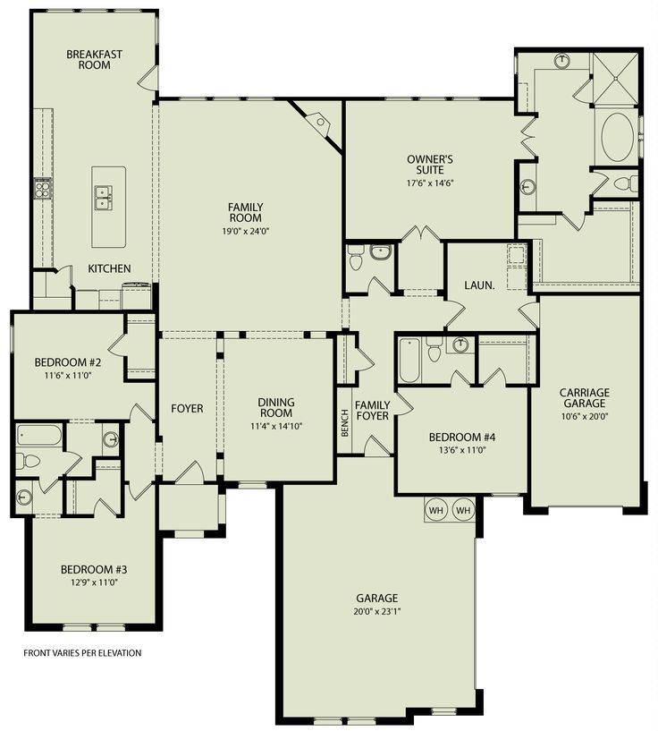 543 Best Images About Floor Plans On Pinterest