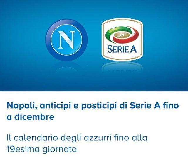 Calendario Anticipi E Posticipi Serie A.Tktpoint Calcio Napoli Antici E Posticipi Campionato